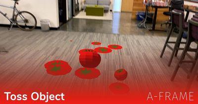 A-Frame: Toss Object