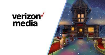 Verizon Media - Santa's Grotto Portal