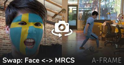 Swap Camera: Face Effects <-> MRCS Hologram