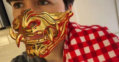 Samurai Mask (Realtime Reflections)
