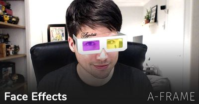 A-Frame: Face Effects
