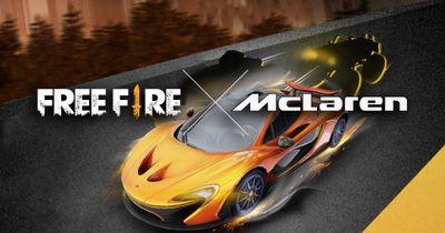 Garena Free Fire x McLaren Immersive Web AR Experience: McLaren in your space.
